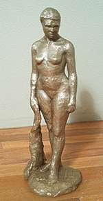 new patina for bronze figure